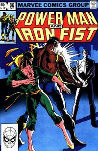 Cover Thumbnail for Power Man and Iron Fist (Marvel, 1981 series) #86