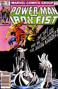 Cover Thumbnail for Power Man and Iron Fist (Marvel, 1981 series) #87 [newsstand]