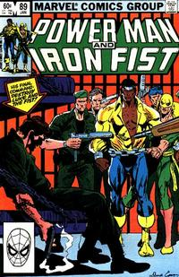Cover Thumbnail for Power Man and Iron Fist (Marvel, 1981 series) #89 [direct]