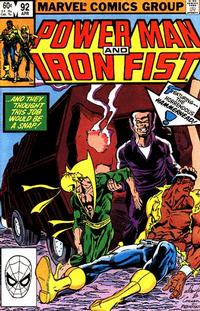 Cover Thumbnail for Power Man and Iron Fist (Marvel, 1981 series) #92 [direct]