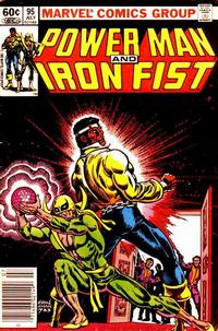 Cover for Power Man and Iron Fist (Marvel, 1981 series) #95 [US Newsstand]