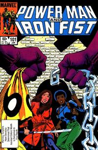 Cover for Power Man and Iron Fist (Marvel, 1981 series) #101 [direct]