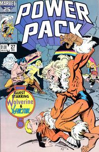 Cover Thumbnail for Power Pack (Marvel, 1984 series) #27