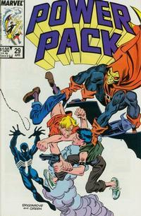 Cover Thumbnail for Power Pack (Marvel, 1984 series) #29