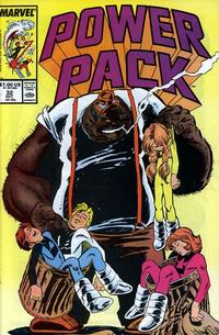 Cover for Power Pack (Marvel, 1984 series) #32