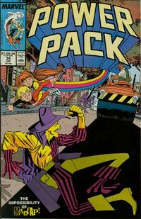 Cover Thumbnail for Power Pack (Marvel, 1984 series) #34