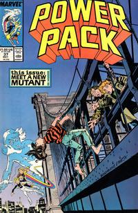 Cover for Power Pack (Marvel, 1984 series) #37