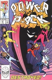 Cover Thumbnail for Power Pack (Marvel, 1984 series) #61