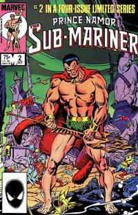 Cover Thumbnail for Prince Namor, the Sub-Mariner (Marvel, 1984 series) #2 [Direct]