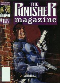 Cover Thumbnail for The Punisher Magazine (Marvel, 1989 series) #1 [Direct]