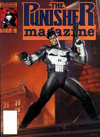 Cover Thumbnail for The Punisher Magazine (Marvel, 1989 series) #4
