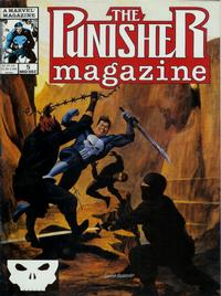 Cover Thumbnail for The Punisher Magazine (Marvel, 1989 series) #5