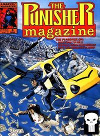 Cover Thumbnail for The Punisher Magazine (Marvel, 1989 series) #8