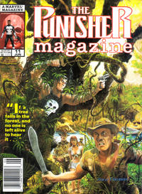 Cover Thumbnail for The Punisher Magazine (Marvel, 1989 series) #11 [Newsstand]
