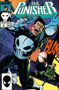 Cover Thumbnail for The Punisher (Marvel, 1987 series) #4