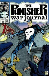 Cover Thumbnail for The Punisher War Journal (Marvel, 1988 series) #1 [Direct]