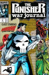 Cover Thumbnail for The Punisher War Journal (Marvel, 1988 series) #2