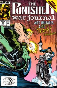 Cover Thumbnail for The Punisher War Journal (Marvel, 1988 series) #12 [Direct]