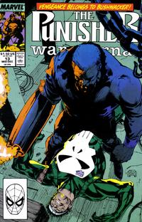 Cover Thumbnail for The Punisher War Journal (Marvel, 1988 series) #13 [Direct]