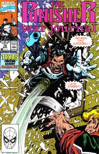 Cover Thumbnail for The Punisher War Journal (Marvel, 1988 series) #16