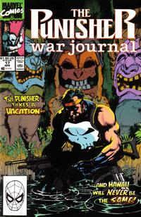 Cover Thumbnail for The Punisher War Journal (Marvel, 1988 series) #17 [Direct]
