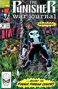 Cover Thumbnail for The Punisher War Journal (Marvel, 1988 series) #20 [Direct]