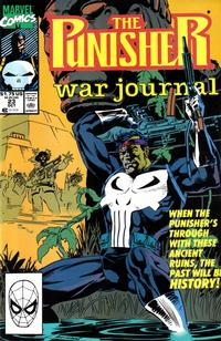 Cover Thumbnail for The Punisher War Journal (Marvel, 1988 series) #23 [Direct]