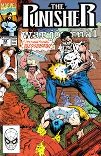 Cover Thumbnail for The Punisher War Journal (Marvel, 1988 series) #24 [Direct]