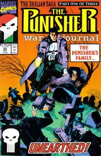 Cover Thumbnail for The Punisher War Journal (Marvel, 1988 series) #25 [Direct]