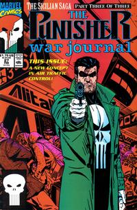 Cover Thumbnail for The Punisher War Journal (Marvel, 1988 series) #27 [Direct]