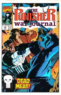 Cover Thumbnail for The Punisher War Journal (Marvel, 1988 series) #28 [Direct]
