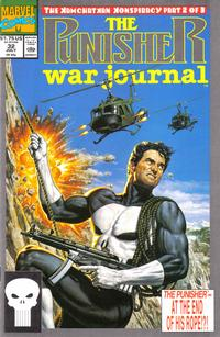 Cover Thumbnail for The Punisher War Journal (Marvel, 1988 series) #32 [Direct]