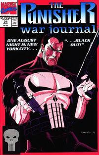 Cover Thumbnail for The Punisher War Journal (Marvel, 1988 series) #34