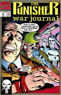Cover Thumbnail for The Punisher War Journal (Marvel, 1988 series) #37