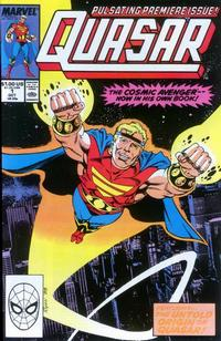 Cover Thumbnail for Quasar (Marvel, 1989 series) #1
