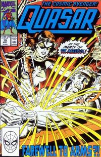 Cover Thumbnail for Quasar (Marvel, 1989 series) #10