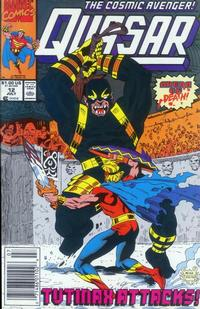 Cover Thumbnail for Quasar (Marvel, 1989 series) #12 [Newsstand]
