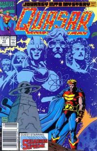 Cover Thumbnail for Quasar (Marvel, 1989 series) #13 [Newsstand]