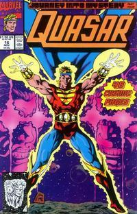 Cover Thumbnail for Quasar (Marvel, 1989 series) #16