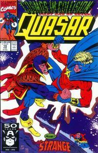 Cover Thumbnail for Quasar (Marvel, 1989 series) #19