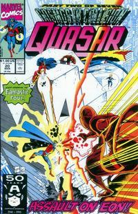 Cover Thumbnail for Quasar (Marvel, 1989 series) #20