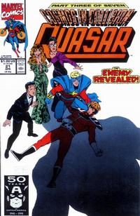 Cover Thumbnail for Quasar (Marvel, 1989 series) #21
