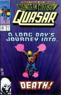 Cover Thumbnail for Quasar (Marvel, 1989 series) #22