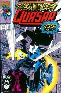 Cover Thumbnail for Quasar (Marvel, 1989 series) #23