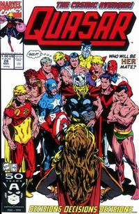 Cover Thumbnail for Quasar (Marvel, 1989 series) #28
