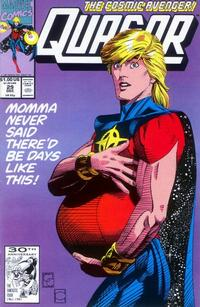 Cover for Quasar (Marvel, 1989 series) #29