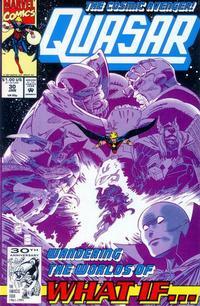Cover for Quasar (Marvel, 1989 series) #30