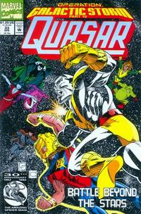 Cover Thumbnail for Quasar (Marvel, 1989 series) #33 [direct]