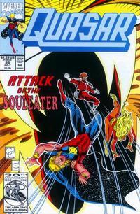 Cover Thumbnail for Quasar (Marvel, 1989 series) #36