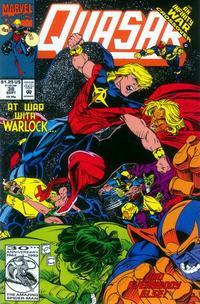 Cover Thumbnail for Quasar (Marvel, 1989 series) #38